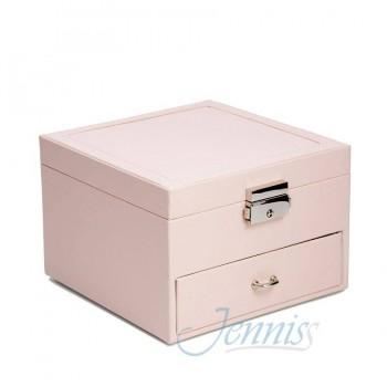 Шкатулка для украшений Jenniss CX7542 (Розовый)