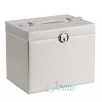 Шкатулка для украшений Jenniss CX7706 (Белый)
