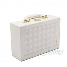 Шкатулка для украшений Jenniss CX7804 (Белый)