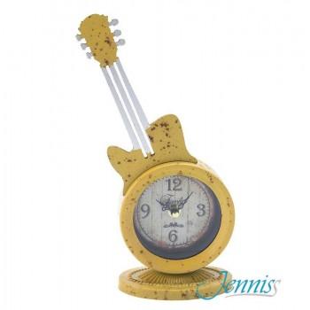 Часы настольные Jenniss Гитара (Жёлтый)