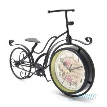 Часы настольные Jenniss Велосипед (Черный)